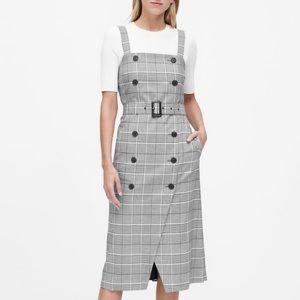 NWT BANANA REPUBLIC | JAPAN PLAID TRENCH DRESS
